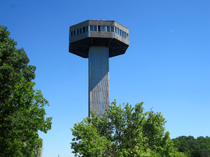 Der Bayernturm in Zimmerau
